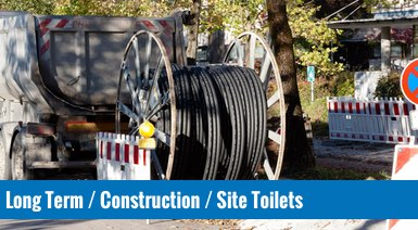 Long Term Hire / Construction / Site  Portable Toilets