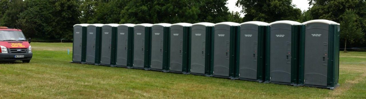 Construction Site Toilets : Long term hire construction site toilets mendip