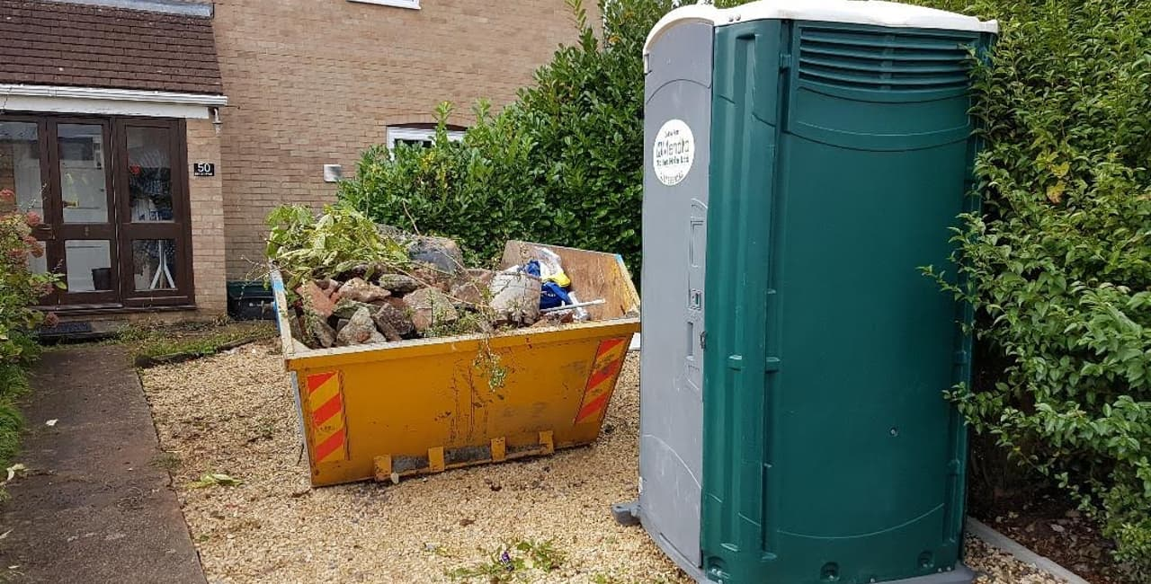 Site Portable Toilet Hire for Building Sites