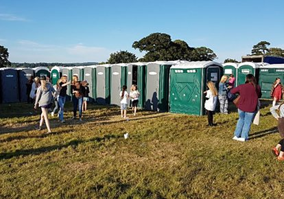 Portable Toilet Hire Events and Parties