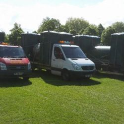 Portable Toilet Hire Delivery to the Bath Area