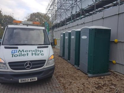 Construction Site Portable Toilet Hire Bristol
